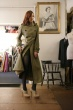 3/4 MILITARY COAT : Style No. garmentStyleNumber